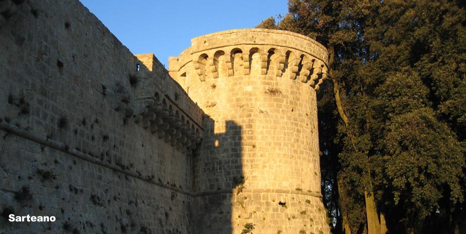 la rocca di Sarteano
